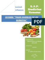 1er informe 2013 nutricion