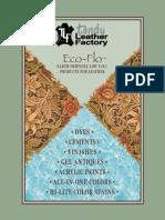 Eco Flo Leathercraft Dyeing Finishing Guide