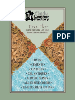 Eco Flo Leathercraft Dyeing Finishing Guide