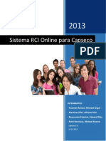 Sistema Rci Para Capseco s.a. - Final