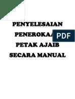 Penyelesaian Penerokaan Petak Ajaib Secara Manual