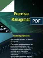 Processor Management