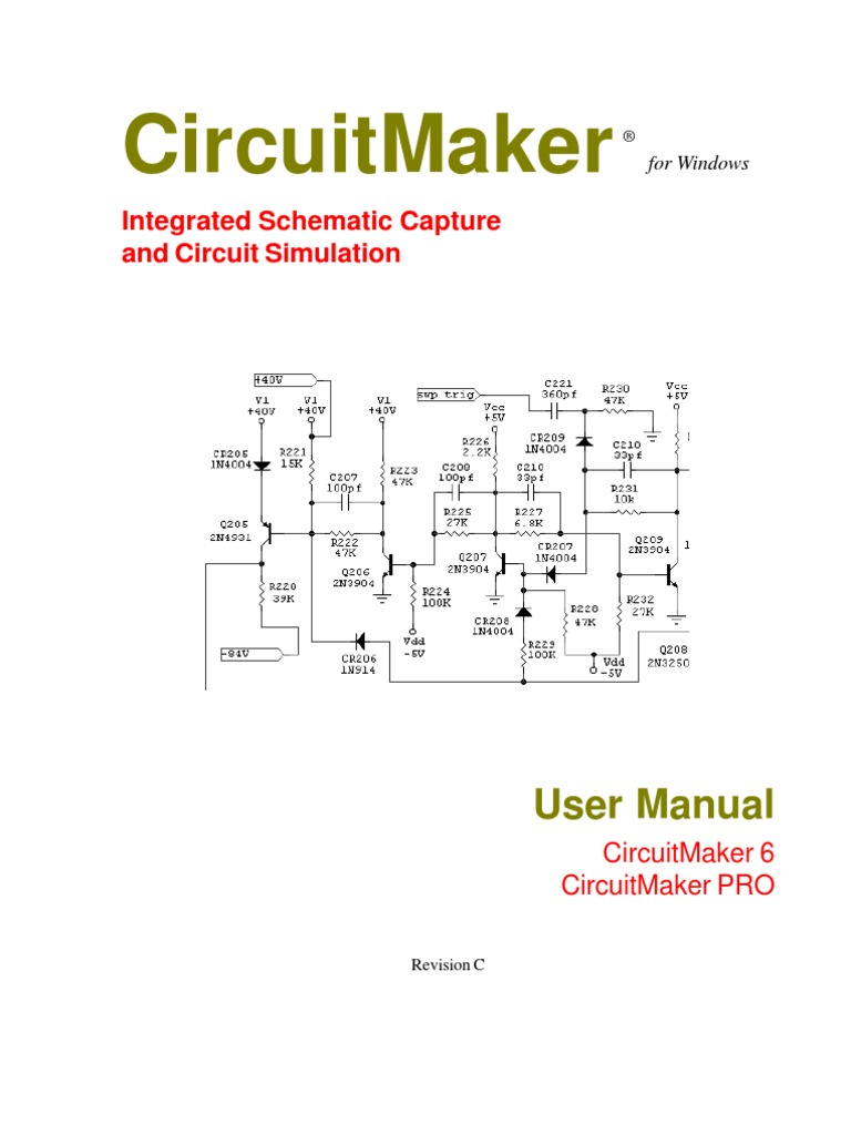 Circuit Maker User Manual Spice Field Effect Transistor