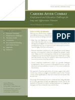 Careers After Combat