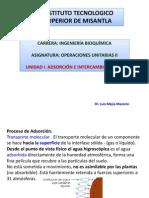 1.0 ADSORCIÓN E INTERCAMBIO IÓNICO
