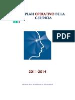Plan Operativo de Gestion 2011-2014