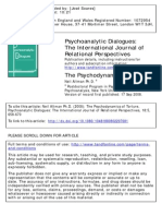 The Psychodynamics of Torture