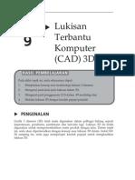 Topik 9 Lukisan Terbantu Komputer (CAD) 3D I