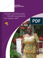 Gender and Economic Growth Assessment for Ghana 2007