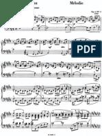 Rachmaninoff Op3 Melodie Ver1940
