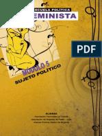Escuela Política Feminista, Módulo 5 - Sujeto Político