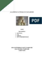 Pengertian Manajemen Dan Fungsi