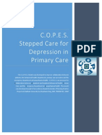 stepped care for depression primary care