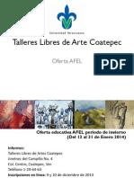 Talleres Libres de Arte Coatepec2