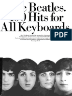 Beatles - 100 Hits for All Keyboards (Arr. Chris Norton)