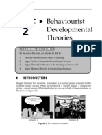 Topic 2 Behaviourist Developmental Theories