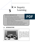 Topic 5 Inquiry Learning
