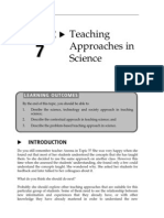 Topic 7 Teaching Approaches in Science