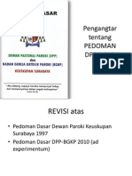 pedoman DPP-BGKP