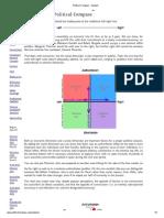Political Compass - Analysis