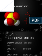 Sulphuric Acid Production