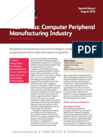 MA Focus - Computer Peripheral Manufacturering Industry