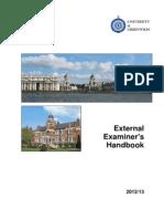 2012 Examiner Handbook