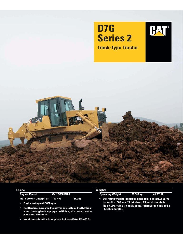 D7GII | Diesel Engine | Transmission (Mechanics)