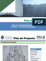 0. Plan Proyecto - Linea Alta Tension