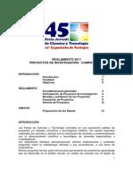 Reglamento Competencia 2011