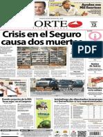 Periódico Norte edición impresa día 12 de enero 2014