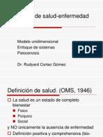 1.2 Salud Enfermedad-Enfoque de Sistemas