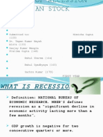 effect of recession on indian stock market
