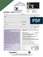 Pace for Peace 5K Registration Form 2009 v2
