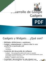 Desarrollo de Google Gadgets