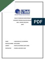 Assignment Digital Electronics