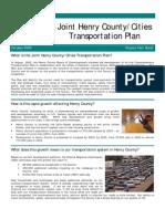 Henry Country Transportation Plan