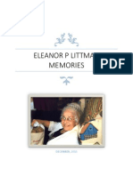 2013 memories – Eleanor P Littman