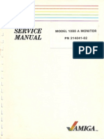 1080A Color Monitor Service Manual 3140041-02