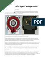 Quadrature Encoding in a Rotary Encoder