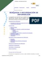 Busqueda y Recuperacion de Informacion