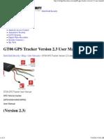 GT06 GPS Tracker Version 2