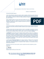 Carta de auspicio Congreso juvenil de filosofía BA