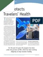 FDA Traveler's Health 2013