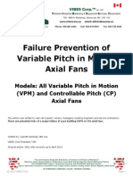 Failure Prevention of Vpm Axial Fans