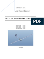 Human Powered Aircraft Report