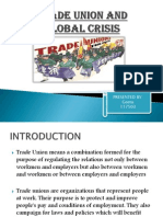 TRADE UNION and Global Crisis