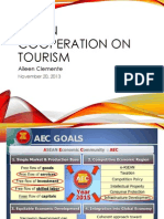 ASEAN Cooperation on Tourism Presentation