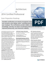 Autodesk Revit Architecture 2014 Certification