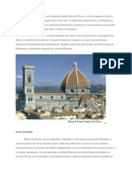 Domul Din Florenta Sau Catedrala Sata Maria Del Fiore